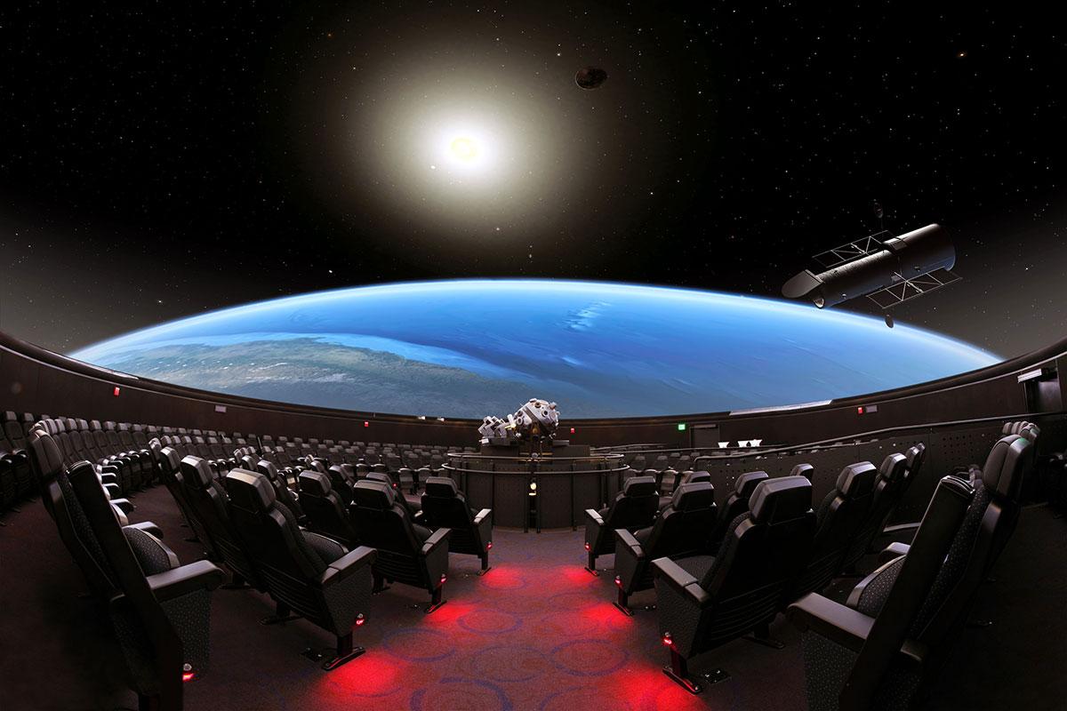 Hayden planetarium wedding