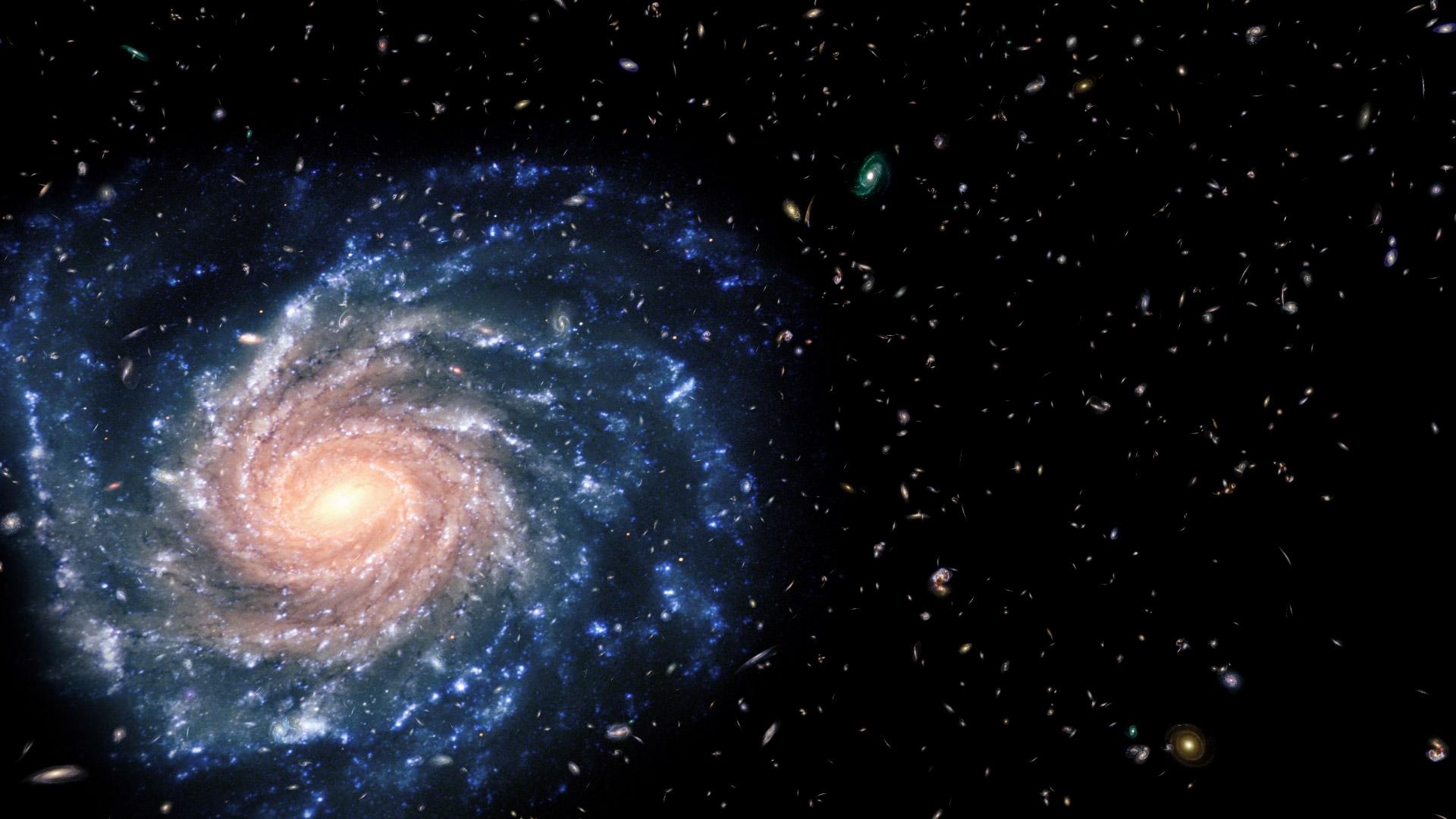 наша галактика во вселенной фото тебя