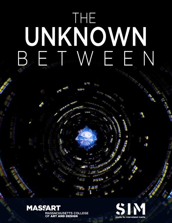 MassArt_UnknownBetween_Poster